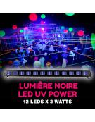 Lumière noire LED UV Power