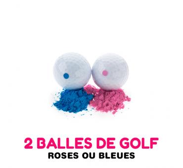 Gender Reveal - balle de Golf