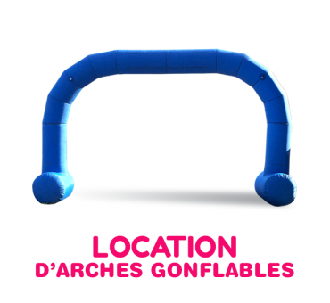 Arche gonflable 6x4m en location