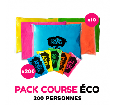 Pack Course ECO Holi 200 personnes