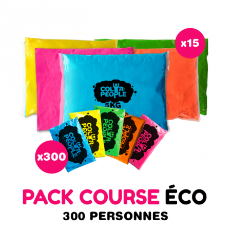 Pack Course ECO Holi 300 personnes