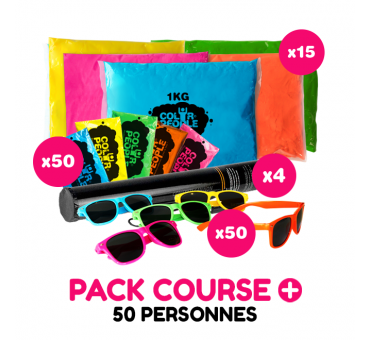 Pack Course + Holi 50 personnes