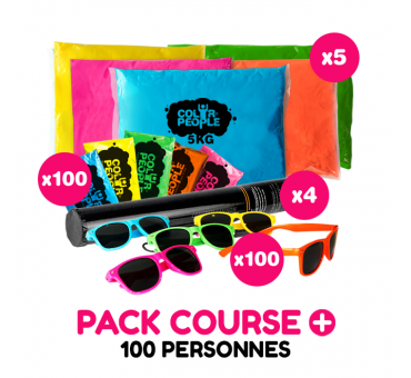 Pack Course + 100 personnes