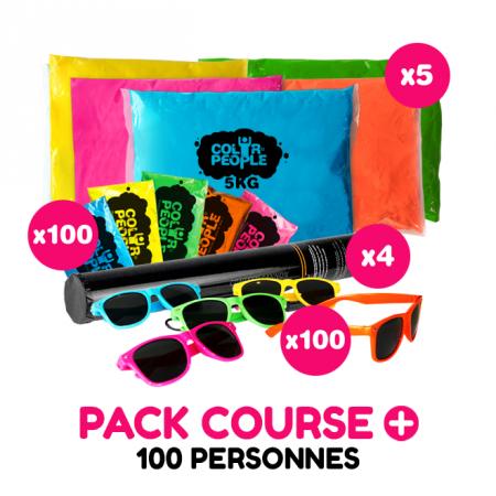 Pack Course + 100 personnes