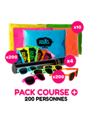 Pack Course + Holi 200 personnes