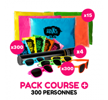 Pack Course Holi 300 personnes