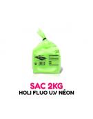 1 sac de 2kg de Poudre Holi FLUO UV