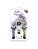 Set de 3 tubes de Gel Maquillage Paillettes