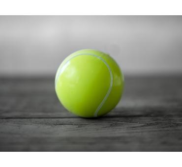 2 balles de tennis pour Gender Reveal