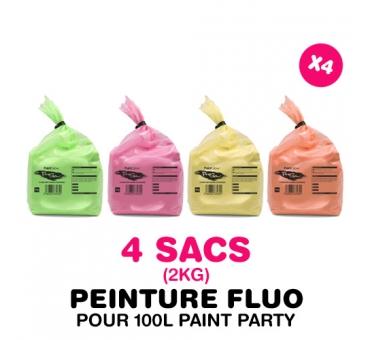4 sacs de 2kg pour PAINT PARTY