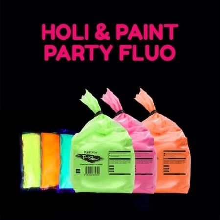 Poudres Fluo et Paint Party