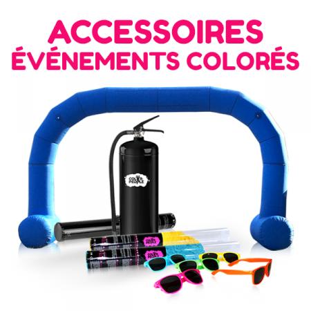 Accessoires pour Evènements Colorés