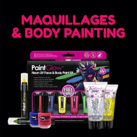 Maquillages Fluo et Body Painting